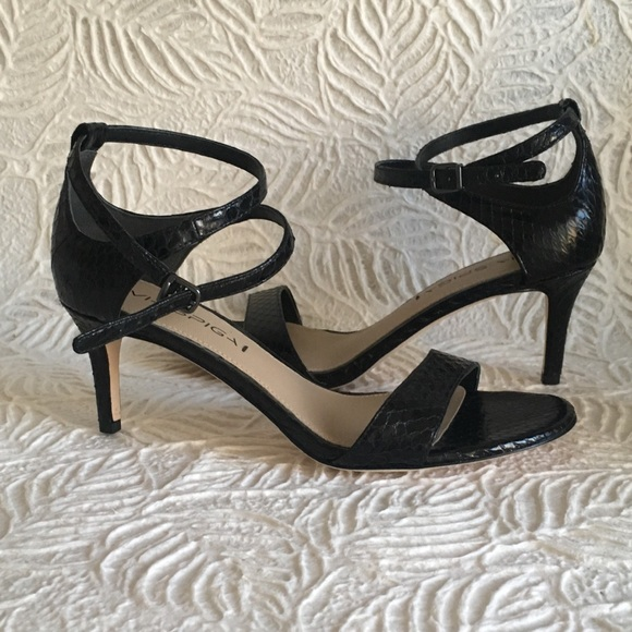 5d2da5760ae Via Spiga Shoes - Via Spiga Leesa Strappy Sandal - black leather